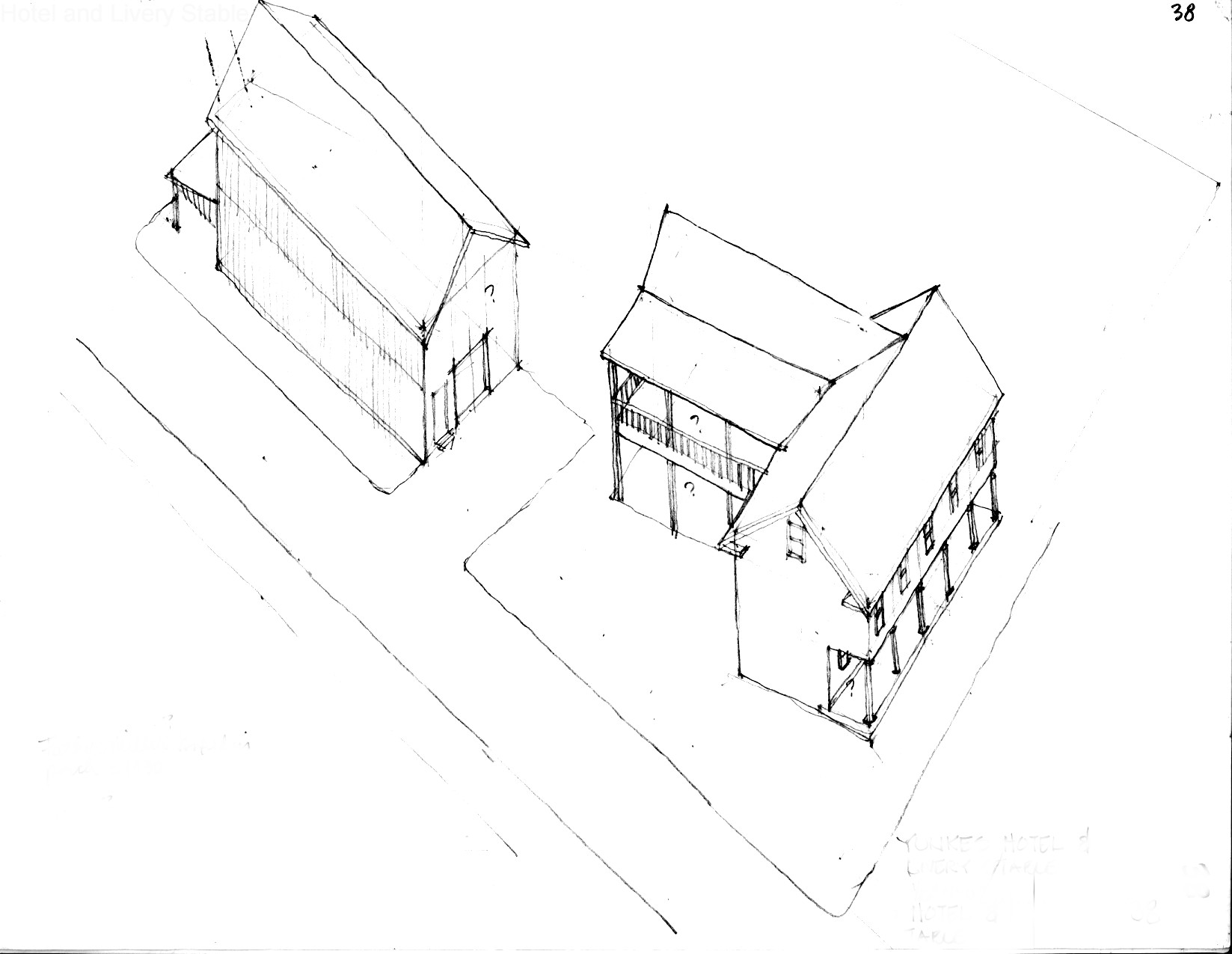 lot_38_sketch_hotel_livery_stable_looking-southwest
